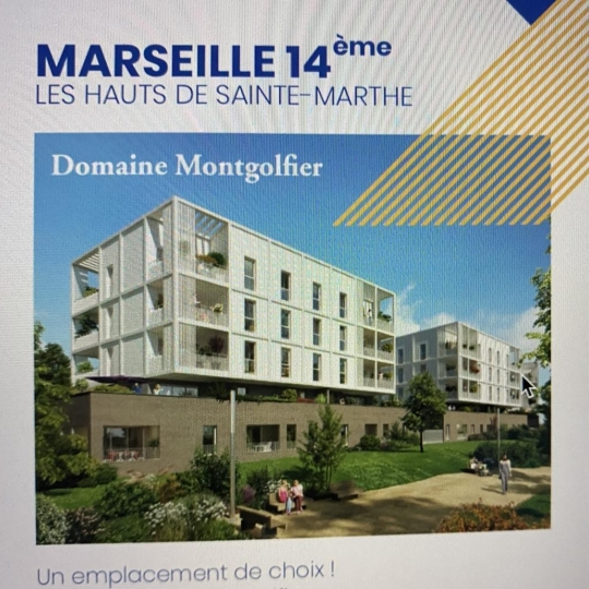 ANGEL IMMO : New program | MARSEILLE (13014) | m2 | 142 000 €
